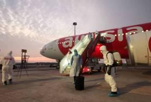 Pesawat khas bawa pulang rakyat Malaysia dari Tehran tiba di KLIA
