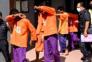 Tiga sekawan didenda RM5,000 halang tugas polis sewaktu PKP