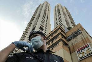 Seluruh Menara City One jalani Perintah Kawalan Pergerakan Diperketatkan