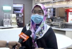 Kebajikan kakitangan hospital dan petugas media tidak dilupa
