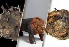 Kurator muzium sedunia isi kebosanan 'lockdown', pamer koleksi artifak aneh dan ngeri!