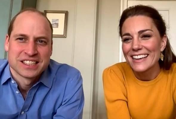 COVID-19: Putera William, Kate Middleton lancar kempen tangani masalah kesihatan mental