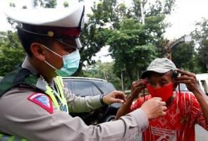 Gagal patuhi SOP COVID-19, Indonesia laksana hukuman denda di khalayak umum