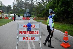 PKP Fasa II: Sekatan jalan raya dan penutupan jalan di Klang