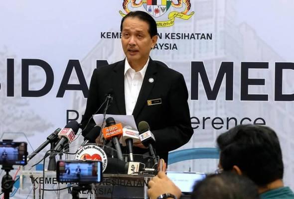 COVID-19: Kluster baharu di Sabah, libatkan petugas kesihatan awam - Dr Noor Hisham