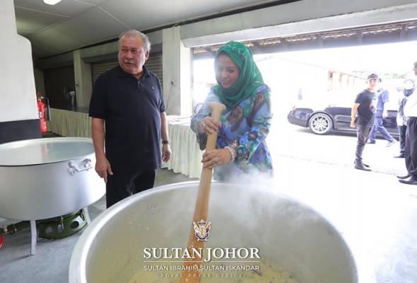 Petugas barisan hadapan bakal terima bubur lambuk air tangan Sultan Johor
