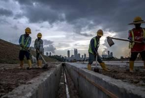 Produktiviti buruh Malaysia turun 0.8 peratus pada suku pertama 2020
