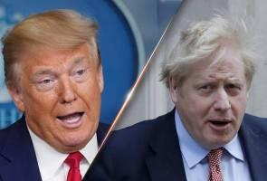COVID-19: Trump sedih dengan perkembangan kesihatan Boris Johnson