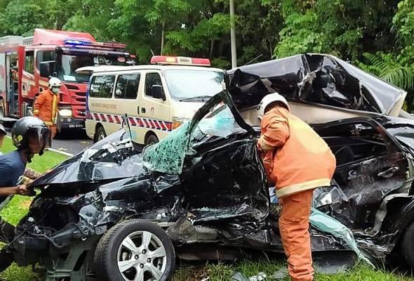 Dua anggota tentera maut kemalangan