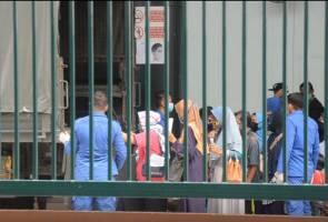 108 terkandas di Nunukan, Indonesia dibawa pulang