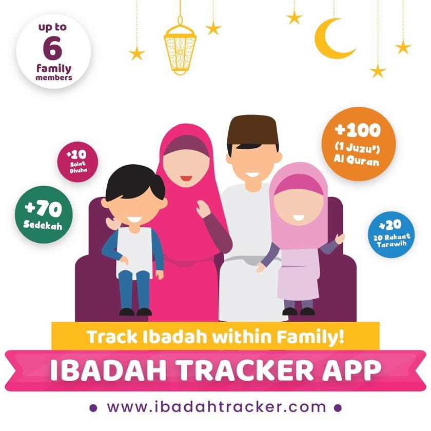 Dengan Ibadah Tracker, umat Islam boleh membandingkan amalan pada tahun sebelumnya sekali gus dapat memperbaiki kelemahan diri.