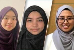 Tiga pelajar tajaan JPA luar negara menang anugerah