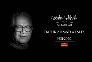 Agong zahir takziah pemergian tokoh wartawan Ahmad A. Talib