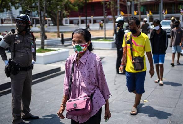 COVID-19: Dua askar Thai pulang dari AS didapati positif