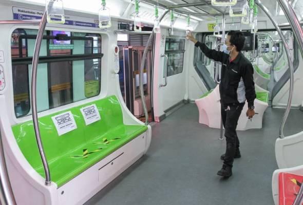 PKPB: Prasarana mohon pengguna tren dan bas amalkan disiplin sosial
