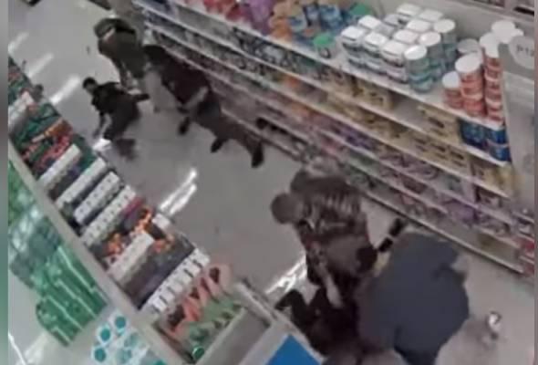 Pekerja pasar raya patah tangan gara-gara tegur pelanggan tidak pakai topeng muka