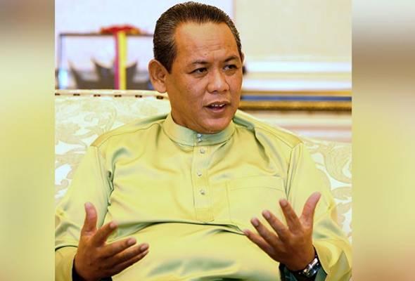 Aminuddin nafi dimasukkan ke hospital, positif COVID-19