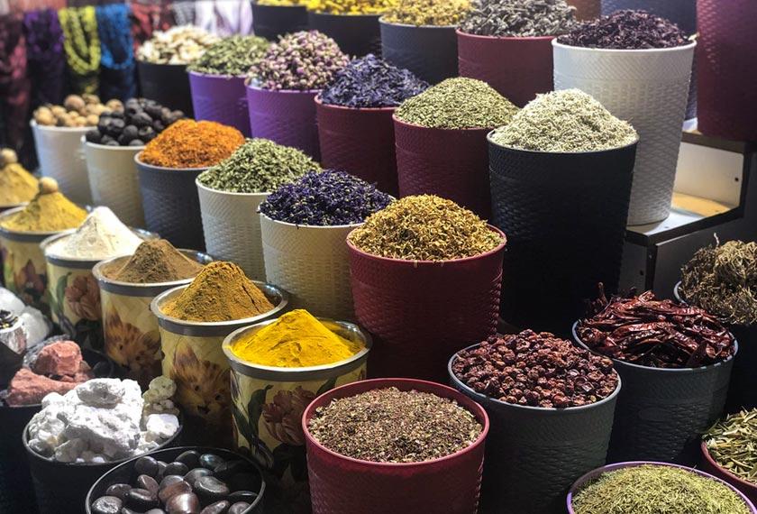 Deria bau pastinya terangsang dengan pelbagai aroma rempah ratus yang dijual di Spice Souk, Deira. - Unsplash