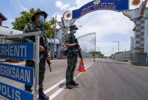 Lima direman, 32 dikompaun atas kesalahan ingkar arahan PKP