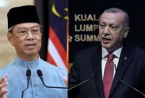 Erdogan hubungi Muhyiddin, sentuh peranan besar Malaysia