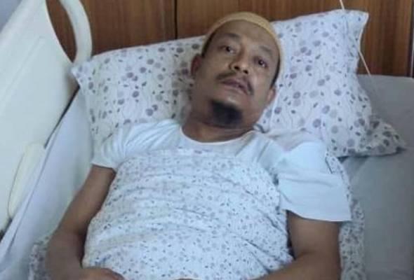 Ustaz Kazim dimasukkan semula ke hospital