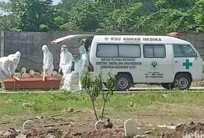 15 penduduk kampung dijangkiti COVID-19 selepas buka keranda