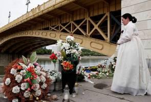 Setahun memperingati tragedi bot terbalik Sungai Danube