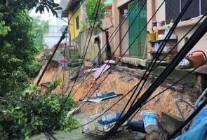 Ancaman tanah runtuh, 40 penghuni Taman Kelab Ukay diarah tinggalkan kediaman