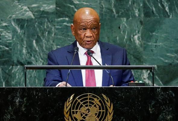 Mudah letih pada usia 80 tahun, PM Lesotho sukarela letak jawatan