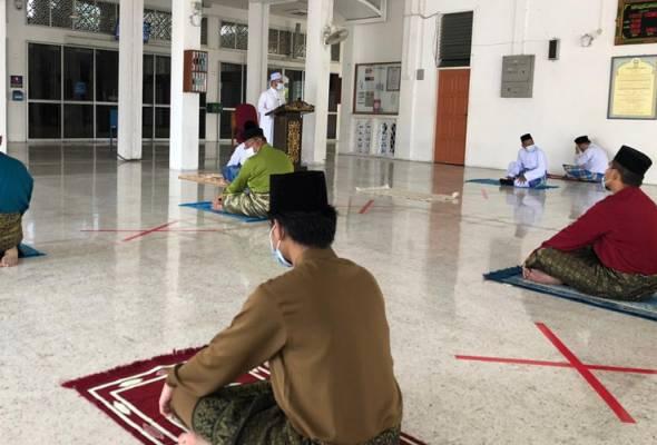 Semua aktiviti keagamaan di masjid dalam kawasan TEMCO ditangguhkan