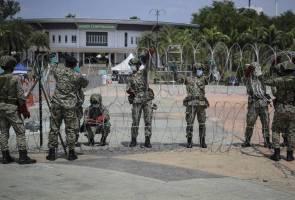 Pusat Kuarantin dan Rawatan COVID-19 di MAEPS Serdang dikawal rapi - Polis
