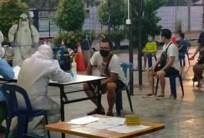 40 individu masuk melalui Bukit Kayu Hitam dikuarantin