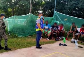 Ingkar PKPB: Lapan individu ditahan main sepak takraw