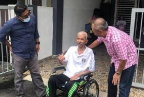 Kerajaan Perak bantu kebajikan legenda bola sepak Namat Abdullah