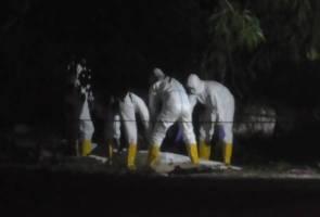Mayat lelaki ditemukan tertiarap di belakang kedai di Puchong