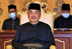 Ali Rustam angkat sumpah jawatan Yang Dipertua Negeri Melaka ketujuh