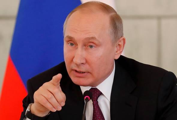 10,000 penduduk Rusia berarak bantah cara Putin tangani krisis politik