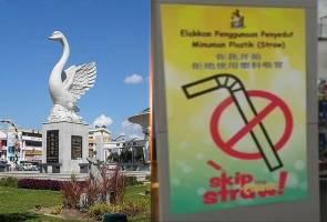 Sibu tekad jadi bandar 100 peratus bebas penggunaan straw plastik