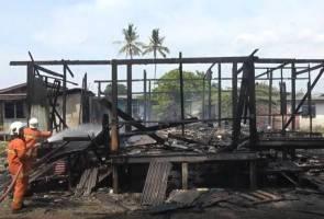 Tragik! Rumah pusaka ibu tunggal musnah dijilat api