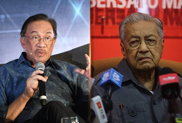The decision was made after Datuk Seri Anwar Ibrahim rejected the proposal to nominate Dr Mahathir as PHs prime ministerial candidate. - Filepic | Astro Awani