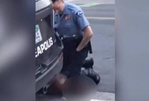 Kematian George Floyd: 4 bekas anggota polis bakal didakwa atas tuduhan bunuh