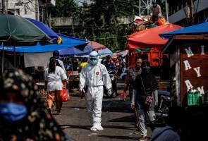 Jangkitan COVID-19 di Indonesia lepasi angka 75,000