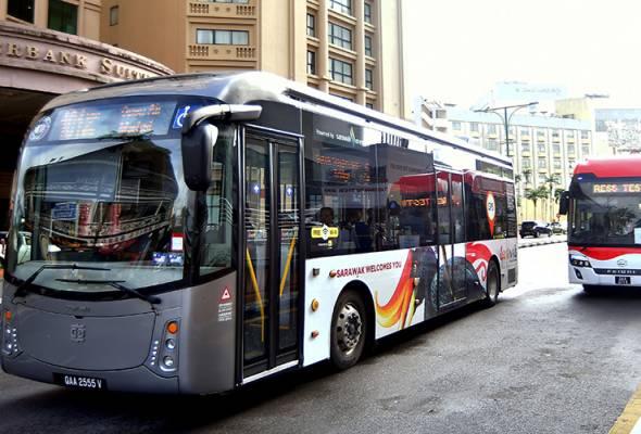 Operasi bas hidrogen di Kuching akan disambung selepas penyelenggaraan