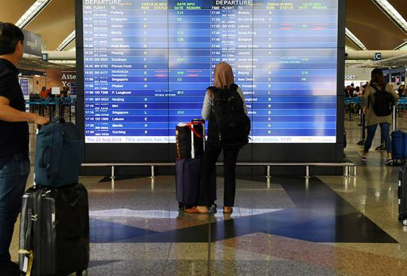 The government has received a proposal for the implementation of travel bubble with neighbouring countries but has not finalised its decision on the matter. - Filepic | Astro Awani