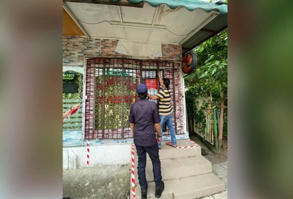 DBKL tutup tiga premis dikendali warga asing di Wangsa Maju