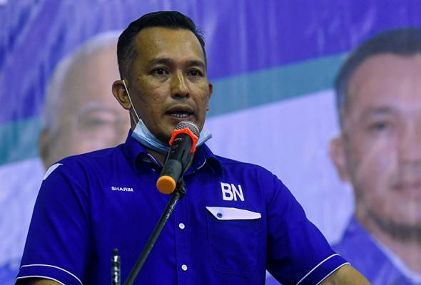 Mohd Sharim Md Zain, 41, garnered 13,872 votes to defeat his two independent contenders.   Astro Awani