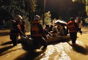 Banjir kilat: 12 penduduk di Bidor dipindahkan ke PPS