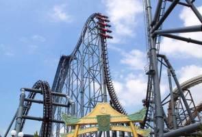 COVID-19: Penunggang roller-coaster diminta senyap, hanya jerit dalam hati