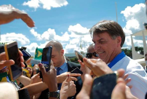 Selepas 4 kali 'gagal' ujian saringan, akhirnya Presiden Brazil negatif COVID-19