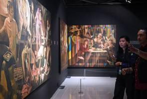 Kombinasi budaya Malaysia dalam seni lukis Itali